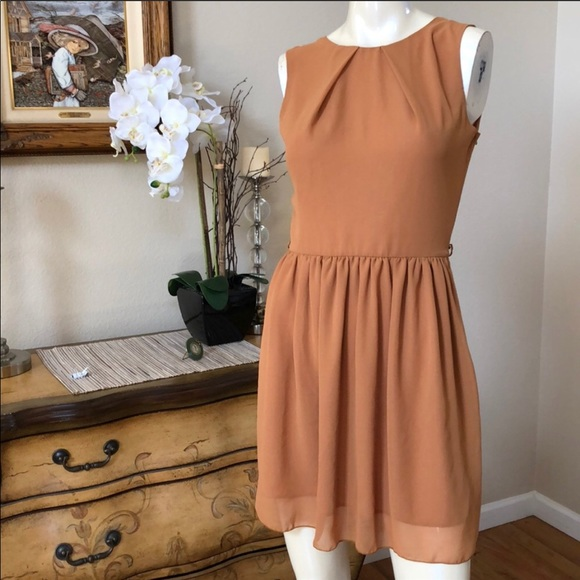 LF Dresses & Skirts - LF Mustard LOVE Dress